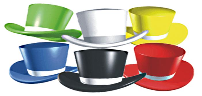 درس تطبيقي باستراتيجية القبعات الست